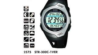 Обзор часов для бега Casio STR-300C-1VER
