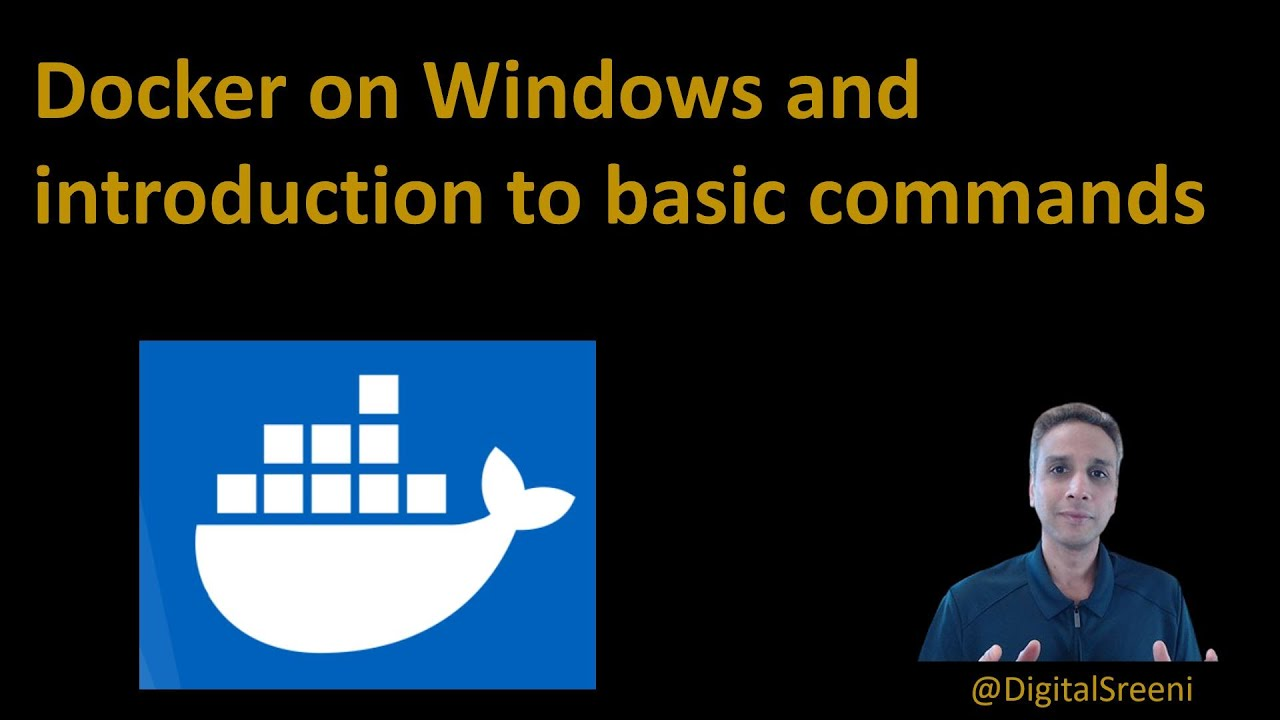 Testing Docker on Windows and Introduction to Basic Commands