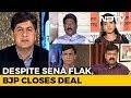 Despite Sena Flak, BJP Closes Deal
