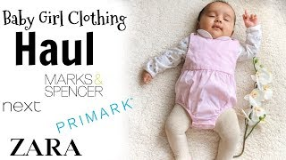 BABY GIRL CLOTHING HAUL   BOXING DAY SALE HAUL