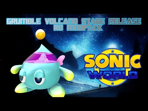 Sonic World R8 - Grumble Volcano [Stage Release]