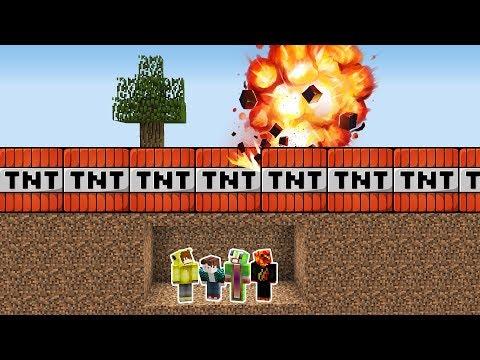 Minecraft TNTLER'E KARŞI %100 GÜVENLİ SIĞINAK! thumbnail