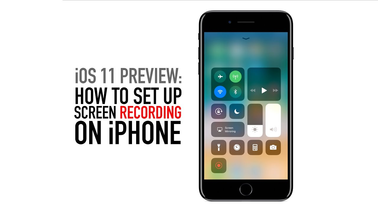 iphone screen recorder how to screen record on iphone in ios 11 2237