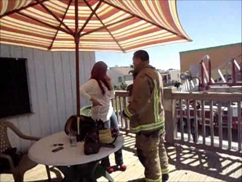 South Padre Firefighter Marriage Proposal Youtube