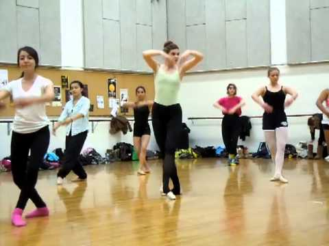 Beginner Ballet College Showcase Adult Dancers Youtube