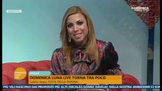 Domenica Luna Live del 5/3/2017 ANNA LAURA GAUDINO