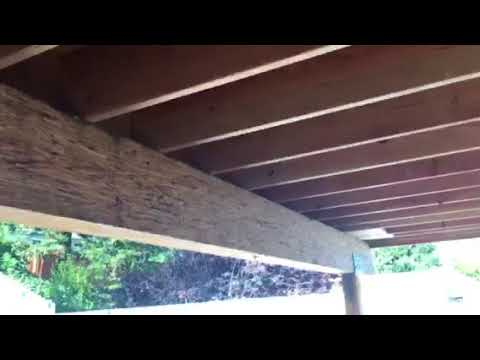 Thousand Oaks Patio Overhang by Crown Construction 818-974-3210