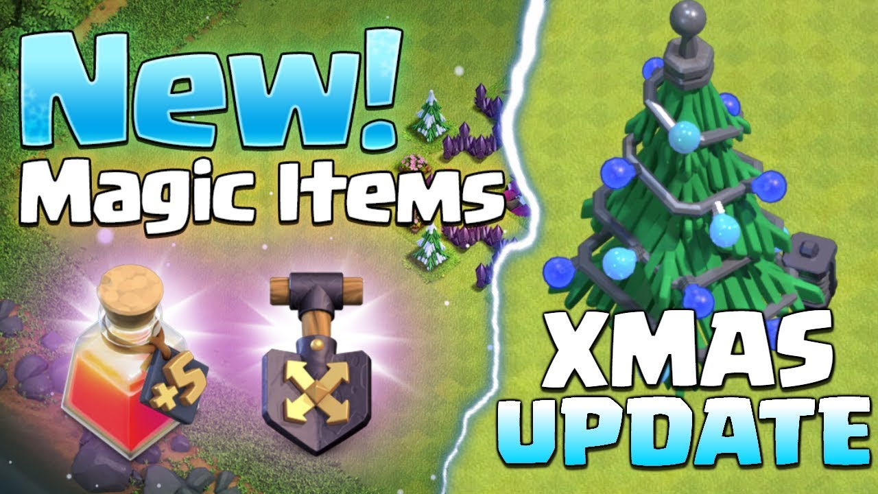 Clash Of Clans Christmas Tree 2019 Clash of Clans CHRISTMAS UPDATE! CoC Sneak Peek #1   December 2018