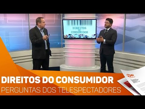 Quadro Direitos do Consumidor: Perguntas dos telespectadores - TV SOROCABA/SBT
