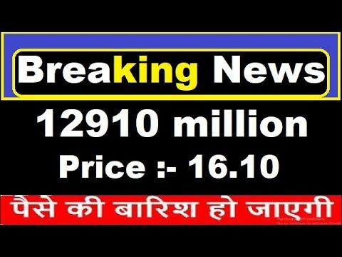 Breaking News in Penny Stock 12910 Million