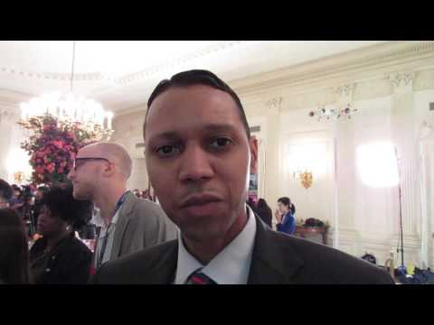 Myles Caggins, National Security Council, White House, 9.24.15