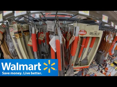 Shop With Me Walmart Grilling Accessories BBQ Tools Come With Me