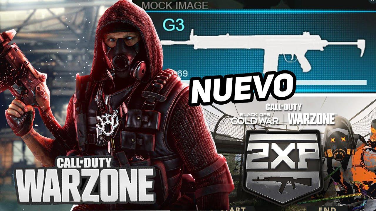Download Nuevo CONTENIDO Perdido Modern Warfare en WARZONE, G3,  2XP en armas - alka593