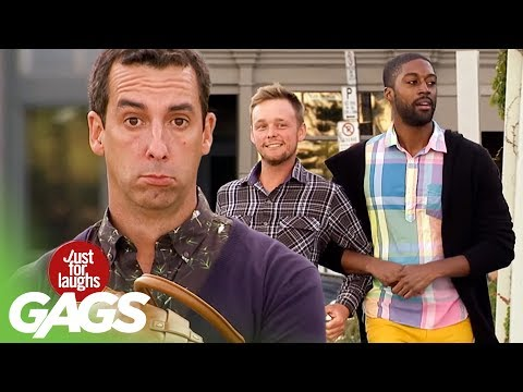 Gay Couple Fight on the Street Prank! - Just For Laughs Gags