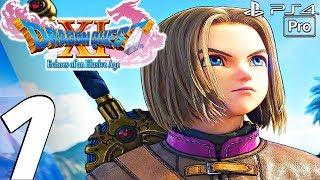 Dragon Quest Xi - English Walkthrough Part 1 - Prologue  Full Game  Ps4 Pro