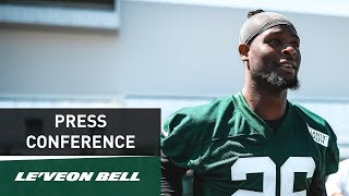 Le'Veon Bell Preseason Press Conference (8/21) | New York Jets | NFL