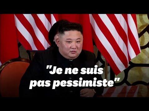 Aux côtés de Trump, Kim Jong Un répond à un journaliste étranger pour la première fois