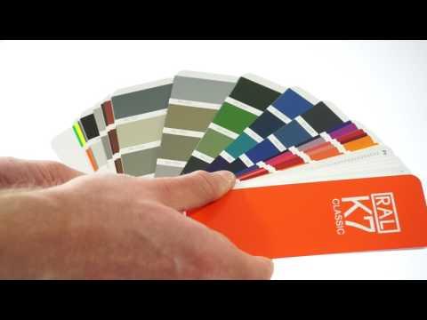 Wzornik kolorów RAL K7   Próbnik kolorów RAL   Katalogi RAL