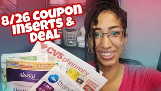 🔥Sunday Coupon Inserts! P&G, SmartSource & RetailMeNot (8/26/18)