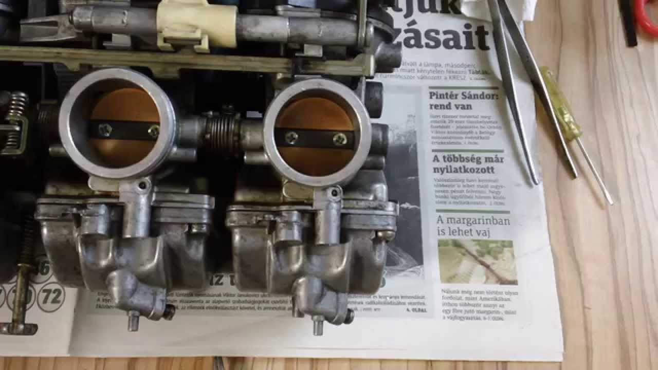 [HOW TO] Repair a broken copper tube on Suzuki GSXR carburetor