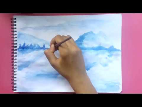 Painting with ink