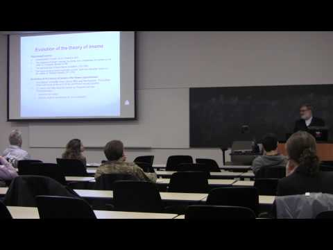 Dr. Mohsen Kadivar Talk on Theories of State in Shi'ite Law at Virginia Tech - Part 1