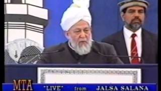 Address to Jalsa Salana America, 30 June 1996