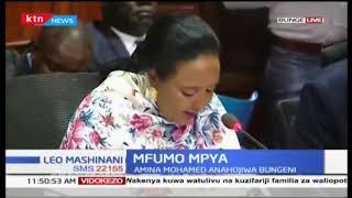 Amina Mohamed ahojiwa bungeni kuhusu mfumo mpya wa elimu