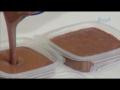 اللبن المكثف بالشوكولاته علي طريقه الشيف #قدري #حلواني_العرب #فوود