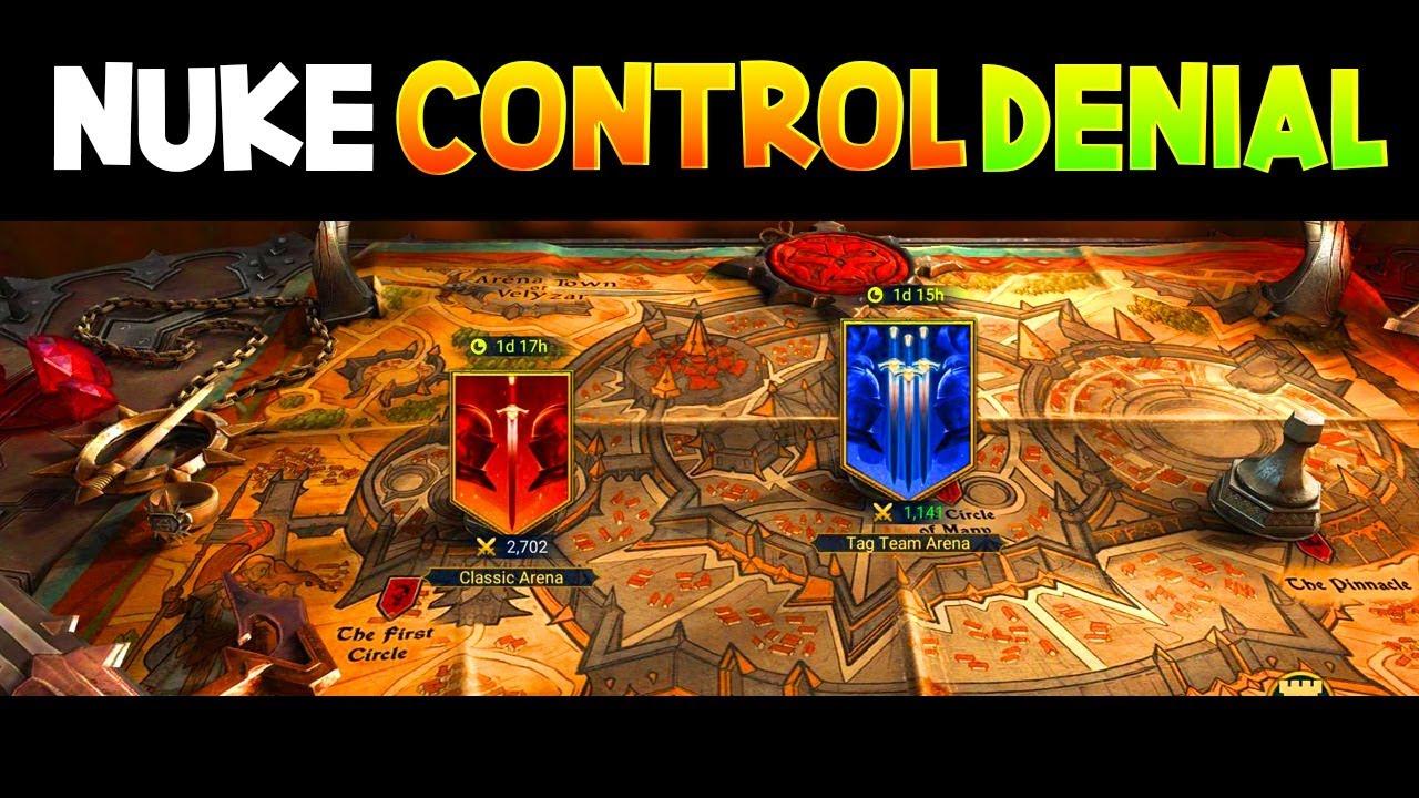 How to Build a Nuke, Control & Denial Team (Arena Meta Guide)