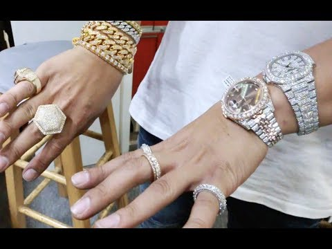 Franky Diamonds Miami Jeweler Teaches Us How To Set Diamonds, Talks Labor & GIA Certified Diamonds.