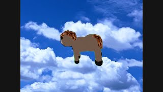 He's A Magical Pony Flying Through The Sky (ROBLOX)
