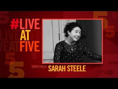 Broadway.com LiveatFive with THE HUMANS' Sarah Steele