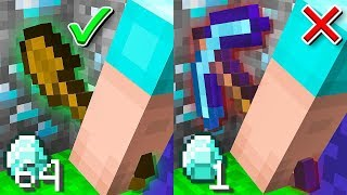 *OVERPOWERED* SHOVEL VS NORMAL PICKAXE!?? Minecraft: JAIL BREAK #10