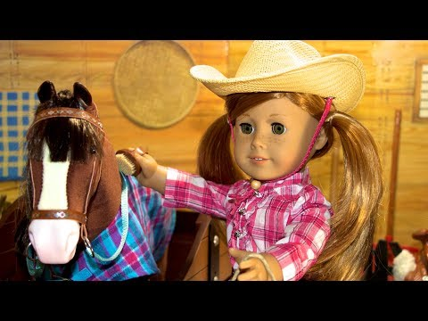 American Girl Doll Horse Stable & Supplies Truly Me PlaySet
