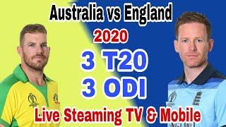 Australia vs England 2020 Live Streaming   AUS vs ENG live Telecast TV Channel List
