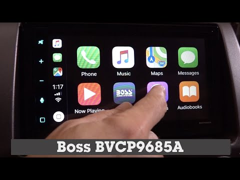 Boss BVCP9685A Display And Controls Demo | Crutchfield Video
