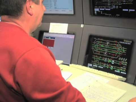 Wie funktioniert eine Betriebszentrale bei der Deutschen Bahn?