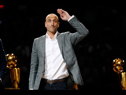SPURSWATCH - Spurs honor Manu Ginobili with tribute video