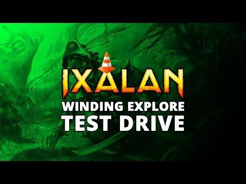 Winding Exploration Ixalan Standard Test Drive | MTGO Stream