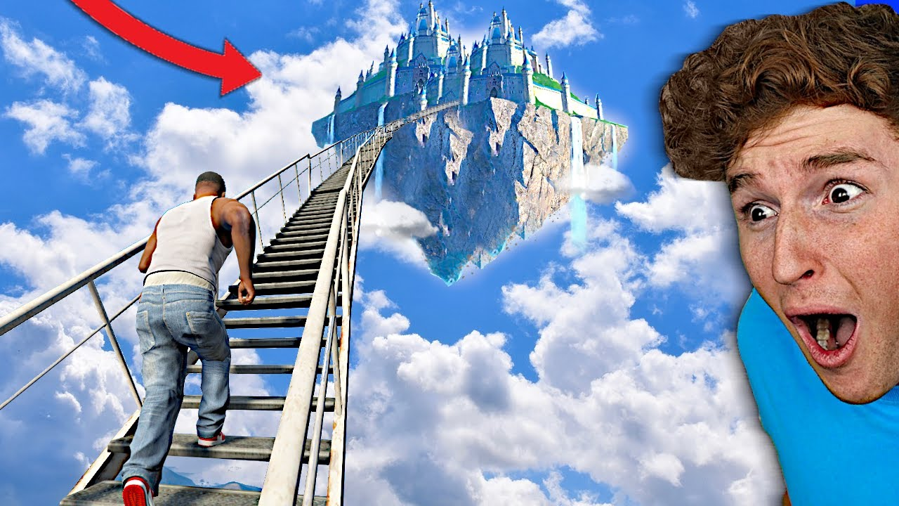 I Found A STAIRWAY To HEAVEN In GTA 5.. (Mods) thumbnail