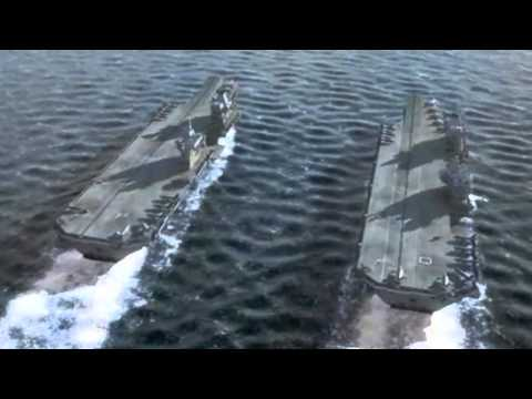 Queen Elizabeth Class Aircraft Carriers (in Action)