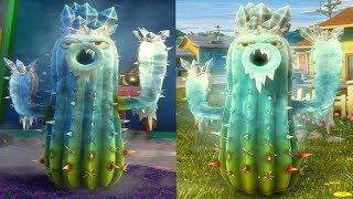 Растения против Зомби 2 Садовая Война - ЛЕДЯНОЙ КАКТУС [Ice Cactus] - Обзор