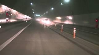 愛媛県宇和島道路津島高田IC→津島岩松IC間を走行