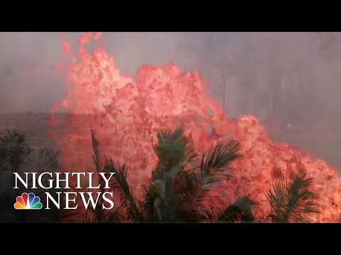 Hawaii Lava Threatens To Block Remaining Roads For Evacuation | NBC Nightly News