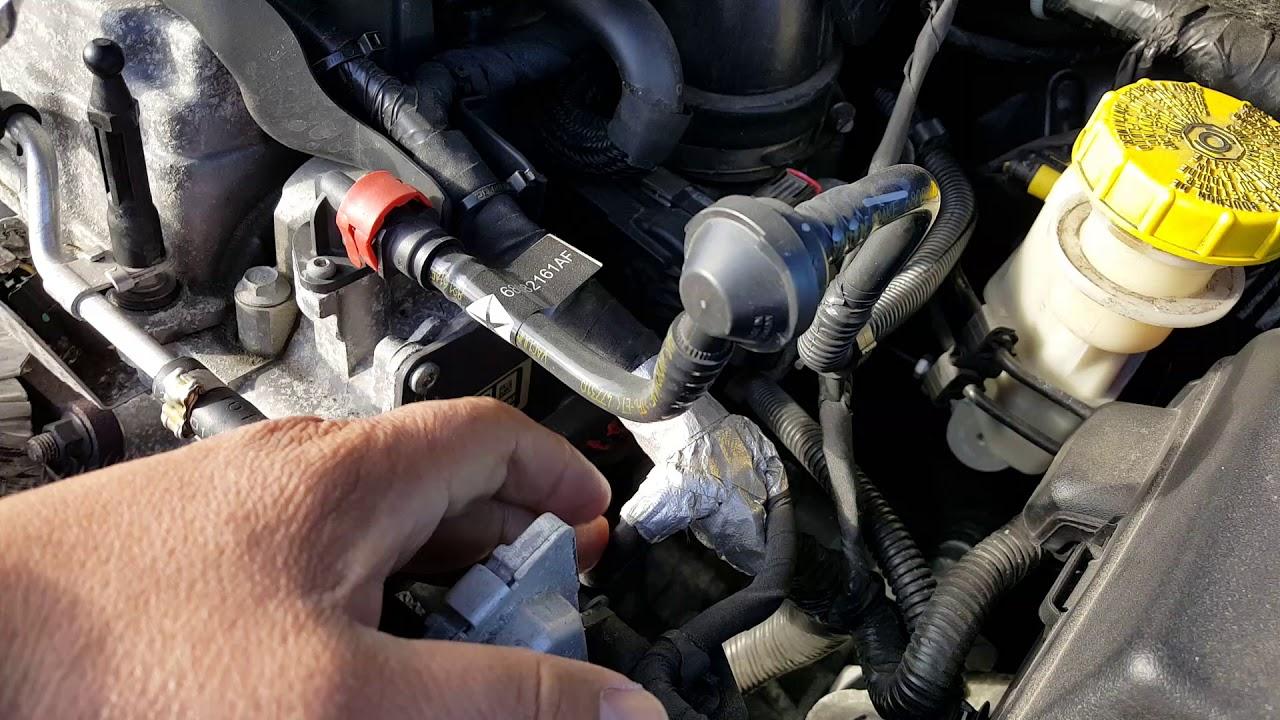 2014 Dodge Dart 24L Coolant Temperature Sensor Location