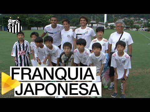 Santos FC recebe franquia japonesa