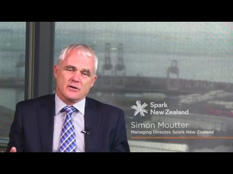 Executive Insight Series - Spark New Zealand, Simon Moutter