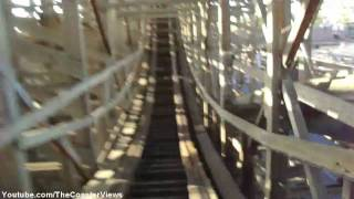 Ghost Rider (HD POV Front) Knotts Berry Farm Wooden Roller Coaster