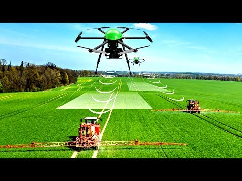 The High-Tech Future of Farming